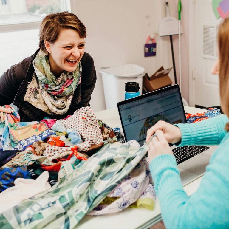 Hope Scarves founder Lara MacGregor